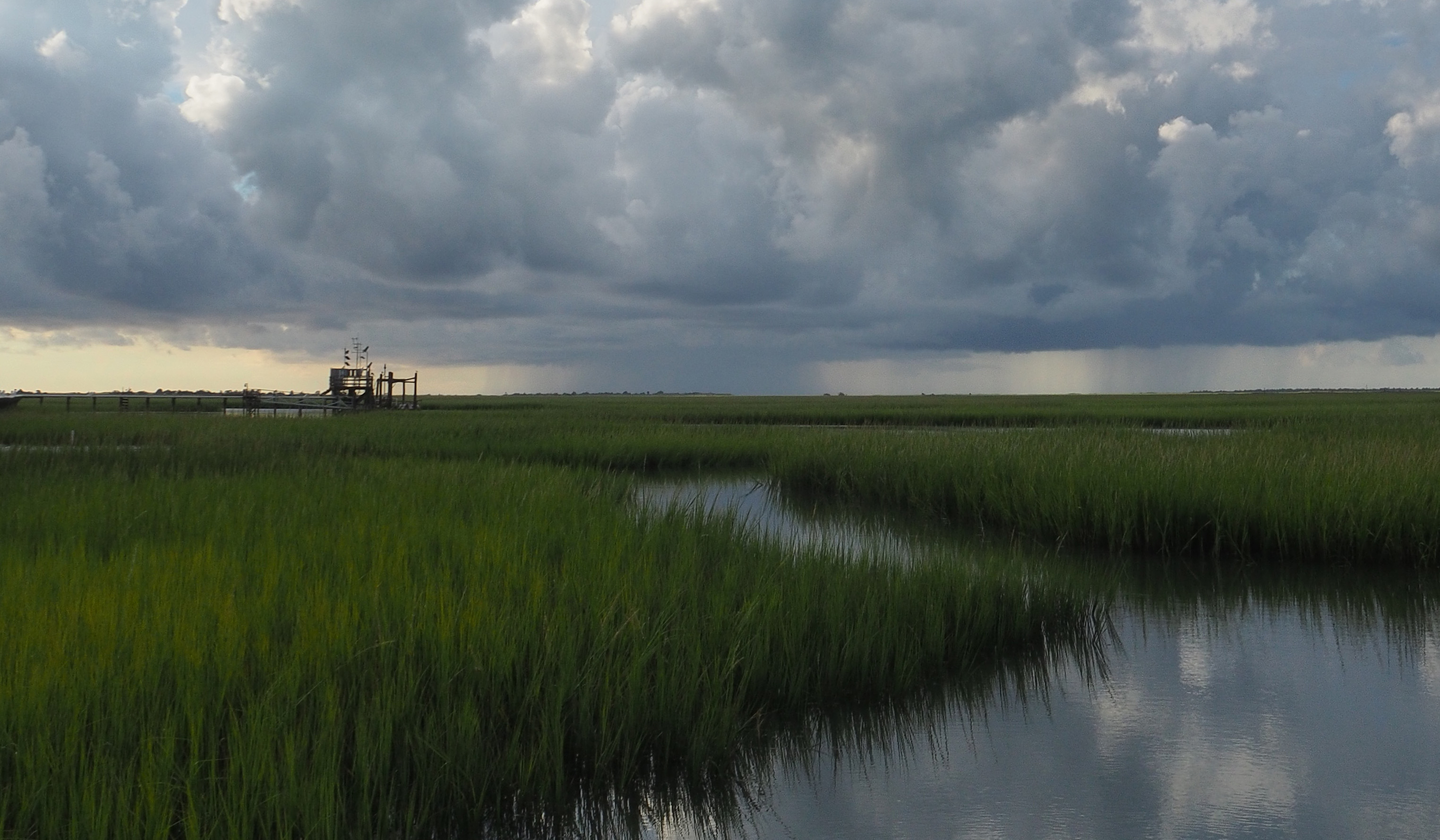 Stormy day at Oyster Landing